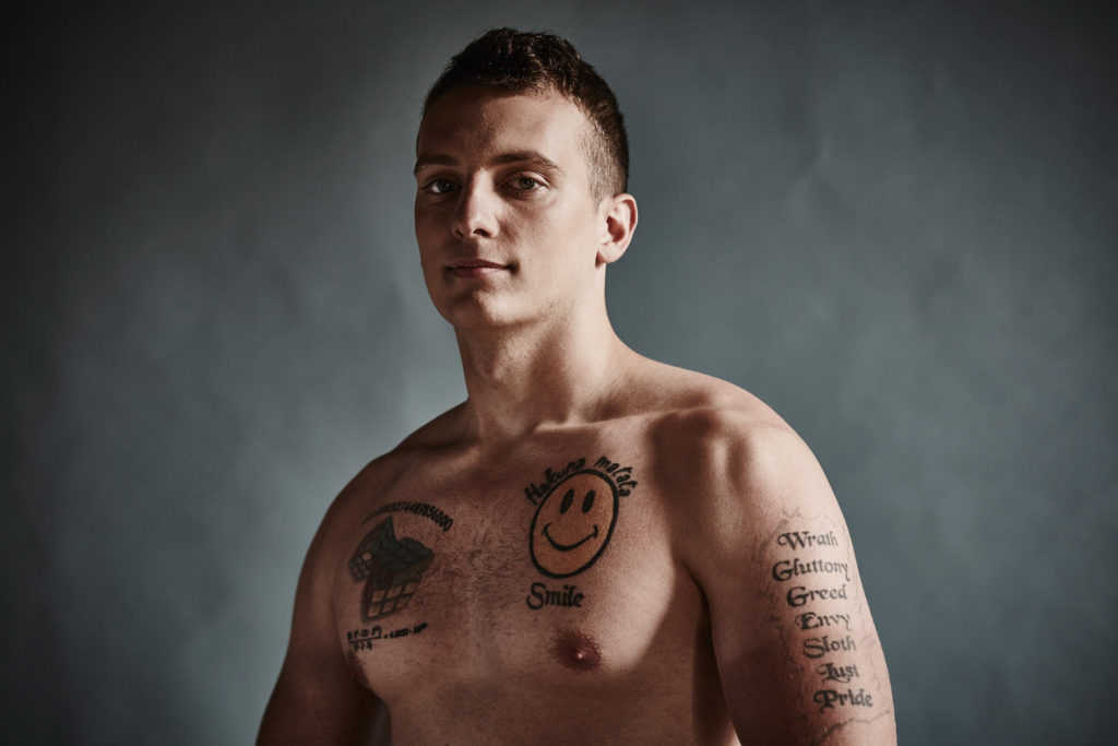 Fighters ink real soldiers and their tattoos the locker for Tattoos in the british army