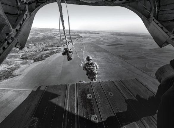 Sergeant Major Darren Chambers Parachute Jump