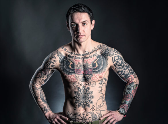 Tattoos: Private Adam Frame
