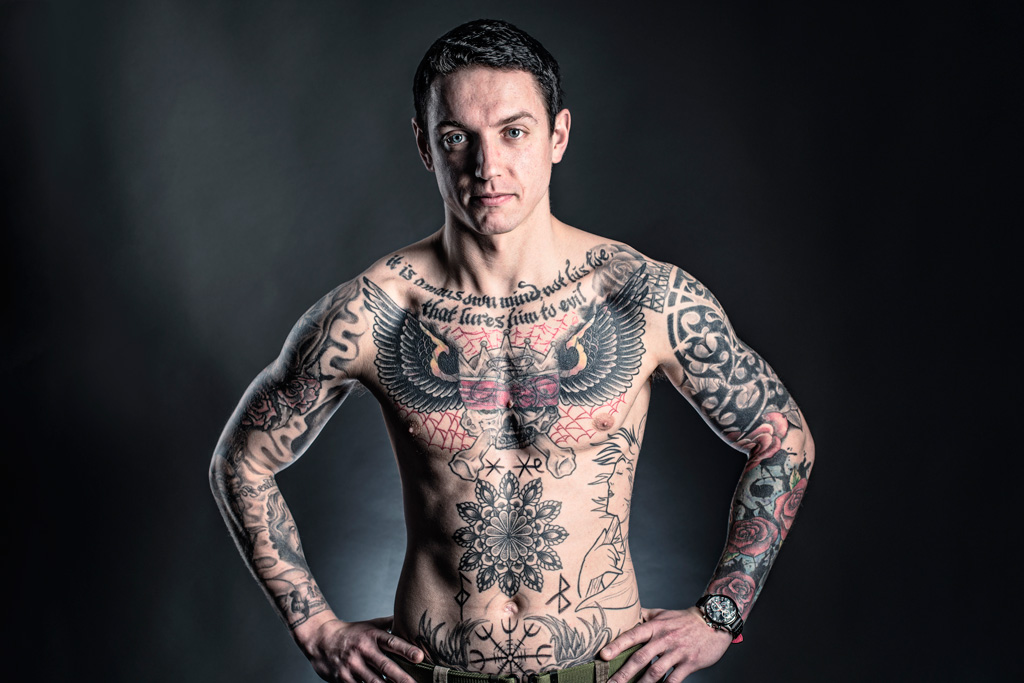 Tattoos: Private Adam Frame