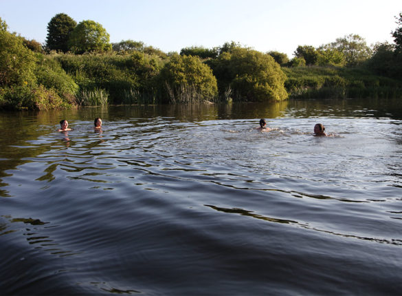 Open swimming is great for you