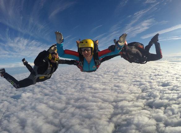 Zabina skydiving