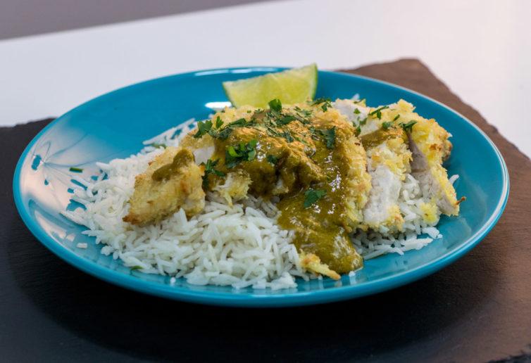 Homemade Chicken katsu curry recipe