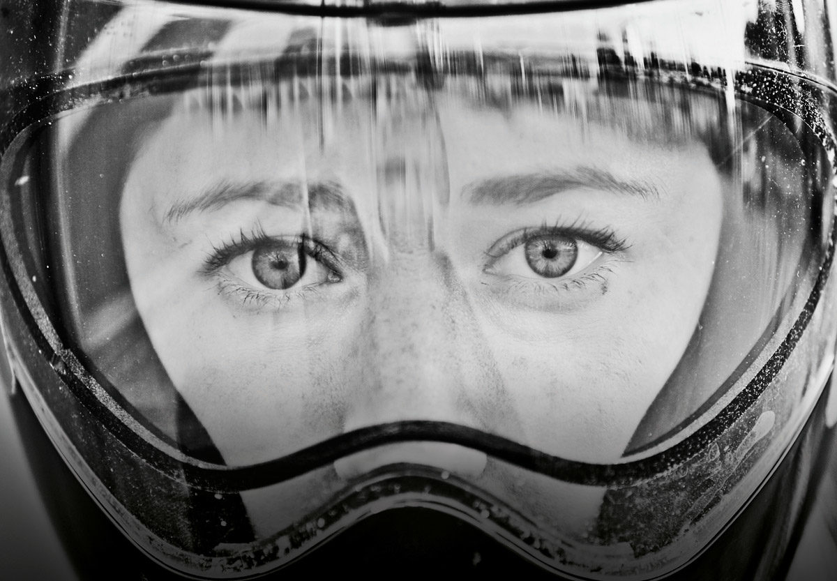 Lizzy Yarnold face close-up
