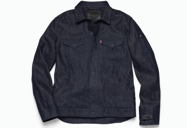 Tech denim jacket