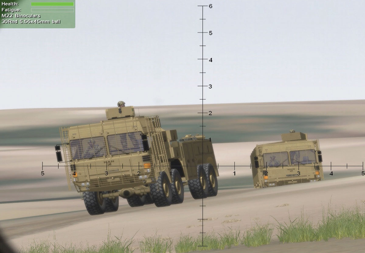 British Army Virtual Battlespace System (VBS) training