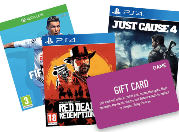 Win a £50 game voucher