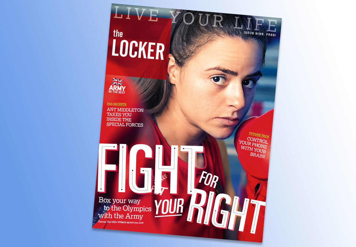 The Locker Magazine issue 9 cover